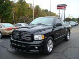 2004 Black Dodge Ram 1500 SLT Rumble Bee Regular Cab #19757733