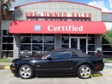 2007 Black Ford Mustang GT Premium Convertible #19753576