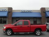 2006 Flame Red Dodge Ram 1500 SLT Quad Cab #19759279