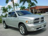 2009 Bright Silver Metallic Dodge Ram 1500 Big Horn Edition Crew Cab 4x4 #19754555