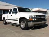 2002 Summit White Chevrolet Silverado 1500 LS Extended Cab #1964199