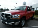 2006 Flame Red Dodge Ram 1500 ST Regular Cab #19823364