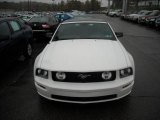 2005 Performance White Ford Mustang V6 Premium Convertible #19829564