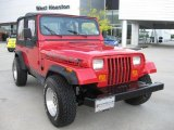 1993 Jeep Wrangler Poppy Red