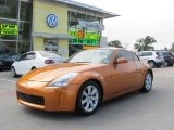 2004 Le Mans Sunset Metallic Nissan 350Z Touring Coupe #19830304