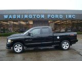 2004 Black Dodge Ram 1500 SLT Sport Quad Cab 4x4 #19829561