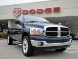 2006 Patriot Blue Pearl Dodge Ram 1500 SLT Quad Cab 4x4 #19832494