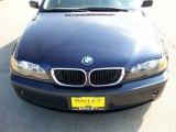 2002 Orient Blue Metallic BMW 3 Series 325i Sedan #19879671