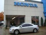2007 Alabaster Silver Metallic Honda Civic LX Coupe #19878173