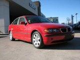 2003 Electric Red BMW 3 Series 325i Sedan #1990216
