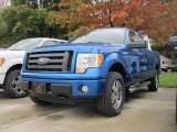 2010 Blue Flame Metallic Ford F150 STX SuperCab 4x4 #19893252