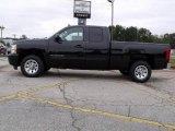 2009 Black Chevrolet Silverado 1500 LS Extended Cab #19885371