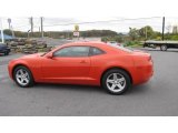 2010 Inferno Orange Metallic Chevrolet Camaro LT Coupe #19951900