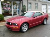 2006 Redfire Metallic Ford Mustang GT Premium Convertible #19949407