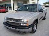 2004 Silver Birch Metallic Chevrolet Silverado 1500 Regular Cab #1988907