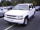 2004 Summit White Chevrolet Tahoe Z71 4x4 #19953525