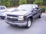 2005 Dark Gray Metallic Chevrolet Silverado 1500 Z71 Extended Cab 4x4 #19953530