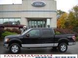 2010 Tuxedo Black Ford F150 XLT SuperCrew 4x4 #19977787