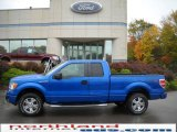 2010 Blue Flame Metallic Ford F150 STX SuperCab 4x4 #19977786