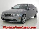 2004 Silver Grey Metallic BMW 3 Series 330i Coupe #1985286