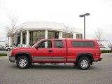 2004 Victory Red Chevrolet Silverado 1500 Z71 Extended Cab 4x4 #20016913
