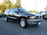2003 Black Dodge Dakota SLT Quad Cab #20009499