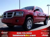 2010 Flame Red Dodge Dakota Big Horn Crew Cab #20009336