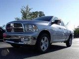 2010 Bright Silver Metallic Dodge Ram 1500 Big Horn Quad Cab #20009339