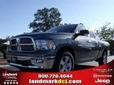 2010 Mineral Gray Metallic Dodge Ram 1500 Big Horn Quad Cab #20009345