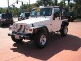 2006 Stone White Jeep Wrangler X 4x4 #20003826