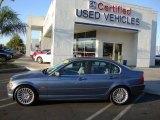 2001 Steel Blue Metallic BMW 3 Series 330i Sedan #20079633