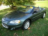 2002 Onyx Green Pearl Chrysler Sebring LXi Convertible #20062304