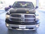 2010 Brilliant Black Crystal Pearl Dodge Ram 1500 Big Horn Crew Cab 4x4 #20083219
