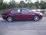 2008 Red Jewel Tint Coat Chevrolet Malibu LTZ Sedan #20077223