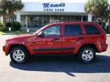 2006 Inferno Red Crystal Pearl Jeep Grand Cherokee Laredo #20076479
