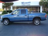 2005 Atlantic Blue Pearl Dodge Ram 1500 SLT Quad Cab #20076476