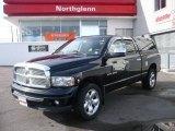 2002 Black Dodge Ram 1500 SLT Plus Quad Cab 4x4 #2004042