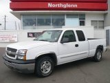 2003 Summit White Chevrolet Silverado 1500 LT Extended Cab #2004064