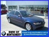2005 Mystic Blue Metallic BMW 3 Series 325i Sedan #20139210