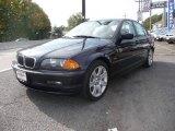 2001 Orient Blue Metallic BMW 3 Series 325i Sedan #20135952