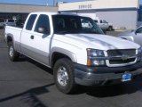 2004 Summit White Chevrolet Silverado 1500 Z71 Extended Cab 4x4 #20143875
