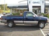 1999 Indigo Blue Metallic Chevrolet Silverado 1500 LS Regular Cab 4x4 #20136271
