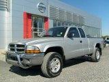 2004 Bright Silver Metallic Dodge Dakota SLT Club Cab 4x4 #20146756