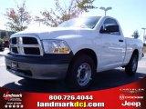 2010 Stone White Dodge Ram 1500 ST Regular Cab #20135484