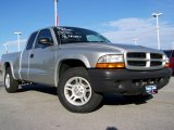 2003 Bright Silver Metallic Dodge Dakota SXT Club Cab #20128013
