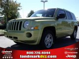 2010 Jeep Patriot Optic Green Metallic