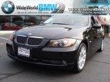 2006 Jet Black BMW 3 Series 330xi Sedan #20129088
