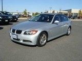 2008 Titanium Silver Metallic BMW 3 Series 328i Sedan #20130713