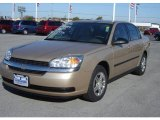 2005 Light Driftwood Metallic Chevrolet Malibu Sedan #20133876