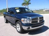 2007 Patriot Blue Pearl Dodge Ram 1500 SLT Quad Cab #20124842